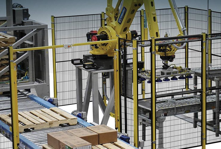 integrated palletizer